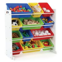 Tot Tutors Toy Organizer in White