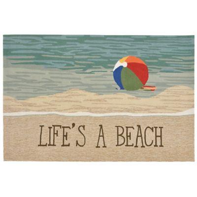 liora manne front porch lifeu0027s a beach 35foot x 55foot indoor