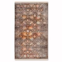 Safavieh Vintage Persian Stelios 4-Foot x 6-Foot Area Rug in Brown/Multi