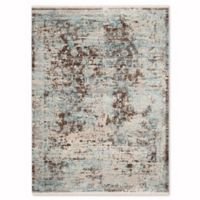 Safavieh Vintage Persian Pythos 4-Foot x 6-Foot Area Rug in Brown/Light Blue