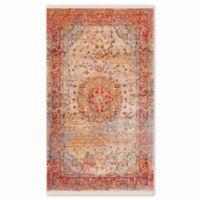 Safavieh Vintage Persian Grego 3-Foot x 5-Foot Area Rug in Saffron/Cream
