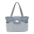 carter's® Geo Diamond Carry It All Tote Diaper Bag in Grey
