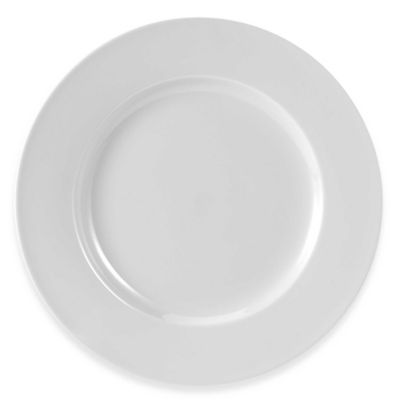 Everyday White® by Fitz and Floyd® Rimmed Dinner Plates in White (Set of  sc 1 st  Bed Bath \u0026 Beyond & Buy White 12\