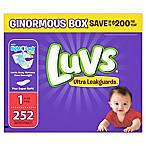 Luvs® Ultra Leakguards™ 252-Count Size 1 Disposable Diapers