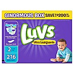 Luvs® Ultra Leakguards™ 216-Count Size 2 Disposable Diapers