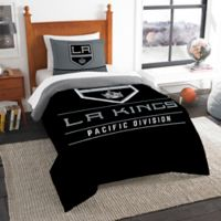 NHL Los Angeles Kings Draft Twin Comforter Set