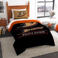 NHL Anaheim Ducks Draft Twin Comforter Set