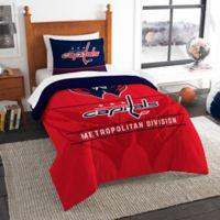 NHL Washington Capitals Draft Twin Comforter Set