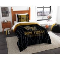 Wake Forest University Modern Take Twin Comforter Set