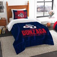 Gonzaga University Modern Take Twin Comforter Set