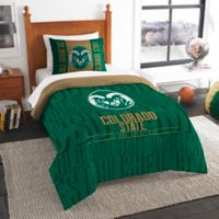 Colorado State University Modern Take Twin Comforter Set