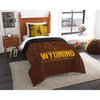 University of Wyoming Modern Take Twin Comforter Set