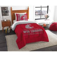Washington State University Modern Take Twin Comforter Set