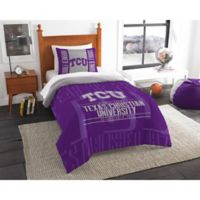 Texas Christian University Modern Take Twin Comforter Set