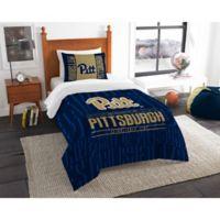University of Pittsburgh Modern Take Twin Comforter Set