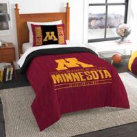 University of Minnesota Modern Take Twin Comforter Set