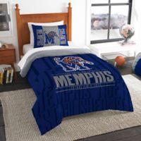 University of Memphis Modern Take Twin Comforter Set