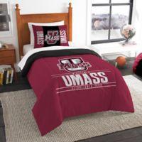 University of Massachusetts Modern Take Twin Comforter Set