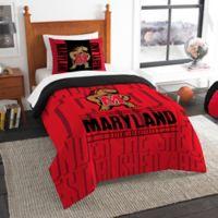 University of Maryland Modern Take Twin Comforter Set