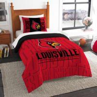 University of Louisville Modern Take Twin Comforter Set