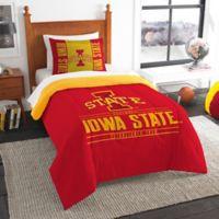 Iowa State University Modern Take Twin Comforter Set