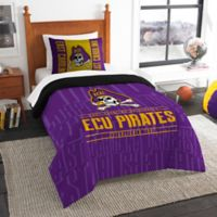 East Carolina University Modern Take Twin Comforter Set