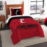 University of Cincinnati Modern Take Twin Comforter Set