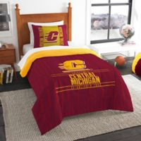 Central Michigan University Modern Take Twin Comforter Set
