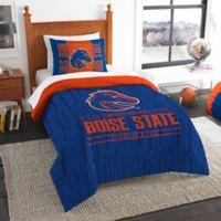 Boise State Modern Take Twin Comforter Set