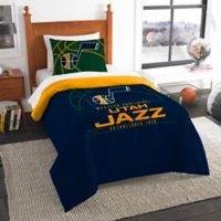 NBA Utah Jazz Twin Comforter Set