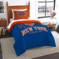 NBA New York Knicks Twin Comforter Set