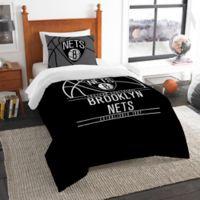 NBA Brooklyn Nets Twin Comforter Set