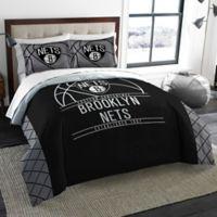 NBA Brooklyn Nets Full/Queen Comforter Set