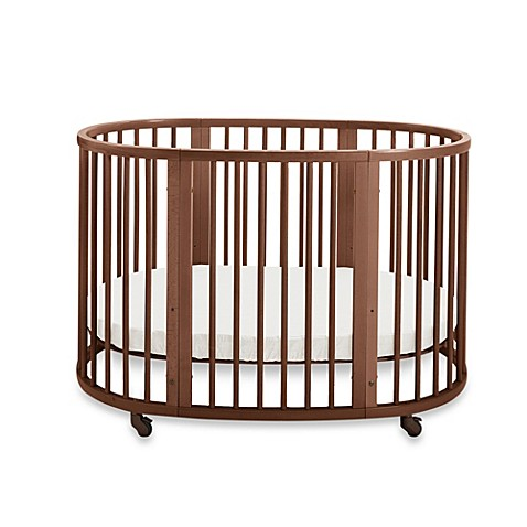 stokke sleepi walnut crib bed bath beyond. Black Bedroom Furniture Sets. Home Design Ideas