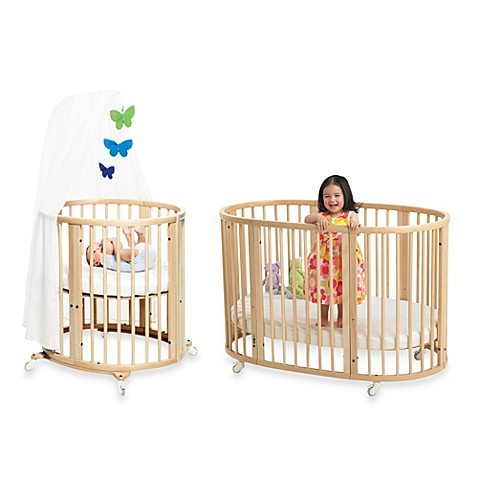 stokke sleepi natural crib system buybuy baby. Black Bedroom Furniture Sets. Home Design Ideas