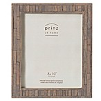 Prinz 8-Inch x 10-Inch Pallet Pieced Wood Frame in Grey