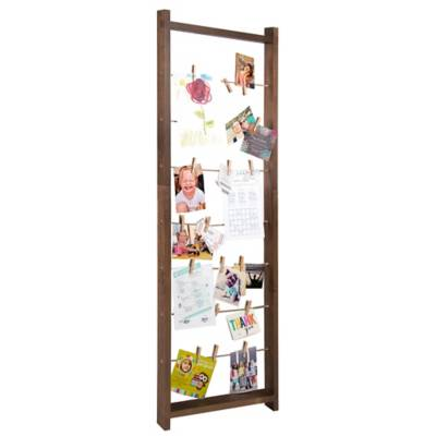 Burnes of Boston 5-Foot Ladder Collage Frame with Clips - Bed Bath ...