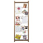 Burnes of Boston 5-Foot Ladder Collage Frame with Clips in Natural