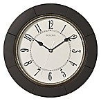 Bulova Deco Wall Clock in Espresso