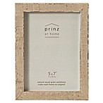 Prinz 5-Inch x 7-Inch Distressed Pallet Wood Frame in Buff