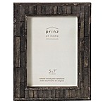 Prinz 5-Inch x 7-Inch Pallet Pieced Wood Frame in Light Black