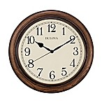 Bulova Oak Wall Clock