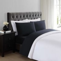 Truly Soft Everyday 200-Thread-Count Twin XL Sheet Set in Black
