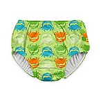 i play.® Crab Size 12M Ultimate Swim Diaper in Light Green