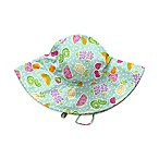 i play.® Fruit Size 0-6M Brim Sun Hat in Light Green