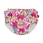 i play.® Size 24M Snap Butterfly Swim Diaper in Hot Pink