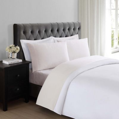Superb Truly Soft Everyday 200 Thread Count King Sheet Set In Ivory