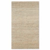 Safavieh Natural Fiber Galina 2-Foot 6-Inch x 4-Foot Area Rug in Natural/Green