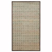 Safavieh Paradise Watercolor 3-Foot 3-Inch x 5-Foot 7-Inch Rug in Creme/Brown