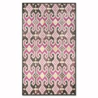Safavieh Paradise Vertical 3-Foot 3-Inch x 5-Foot 7-Inch Rug in Fuchsia/Purple